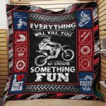 Theartsyhomes Dirt Bikes J0901 84o34 3D Personalized Customized Quilt Blanket ESR27