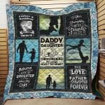 Theartsyhomes Dad Daughter J0204 85o38 3D Personalized Customized Quilt Blanket ESR36