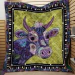 Theartsyhomes Cow Printing Htt-Qhg00097 3D Personalized Customized Quilt Blanket ESR28