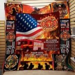 Theartsyhomes Firefighter Th170 3D Personalized Customized Quilt Blanket ESR48