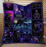 Theartsyhomes BLACK PANTHER AVENGER MARVEL COMICS ART 3D Personalized Customized Quilt Blanket ESR29