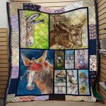 Theartsyhomes Burro Printing Hqc-Qct00096 3D Personalized Customized Quilt Blanket ESR42