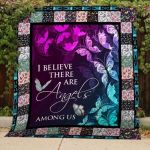 Theartsyhomes Butterflies V1 3D Personalized Customized Quilt Blanket ESR1