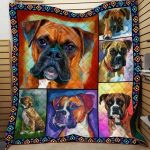 Theartsyhomes Dog Dml-Qhg00012 3D Personalized Customized Quilt Blanket ESR1
