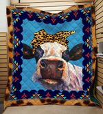 Theartsyhomes Cow Printing Dml-Qvk00007 3D Personalized Customized Quilt Blanket ESR23