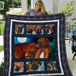 Theartsyhomes Boxer Qui7002 3D Personalized Customized Quilt Blanket ESR12