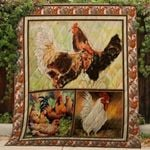 Theartsyhomes Chicken V1 3D Personalized Customized Quilt Blanket ESR34