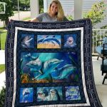 Theartsyhomes Dolphin Quiani12001 3D Personalized Customized Quilt Blanket ESR24