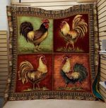 Theartsyhomes Chicken 7 3D Personalized Customized Quilt Blanket ESR14