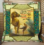 Theartsyhomes Dinosaur Quotes V1 3D Personalized Customized Quilt Blanket ESR48
