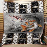 Theartsyhomes Fishing Washable Handmade 1112-04 3D Personalized Customized Quilt Blanket ESR45