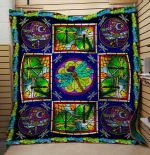 Theartsyhomes Colorfull Dragonfly 3D Personalized Customized Quilt Blanket ESR47