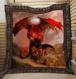 Theartsyhomes Dragon V14 3D Personalized Customized Quilt Blanket ESR21