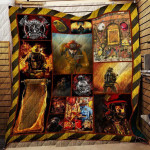 Theartsyhomes Firefighter, Noble Call 3D Personalized Customized Quilt Blanket ESR1