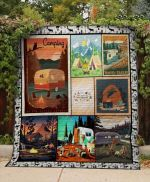 Theartsyhomes Camping: Travel And Trailer 3D Personalized Customized Quilt Blanket ESR13