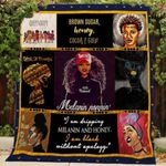 Theartsyhomes Black Queen 3D Personalized Customized Quilt Blanket ESR31