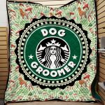 Theartsyhomes Dog Groomer Printing Tdq-Qht0005 3D Personalized Customized Quilt Blanket ESR44