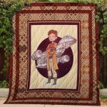 Theartsyhomes Firefly #Bjan-4 3D Personalized Customized Quilt Blanket ESR5
