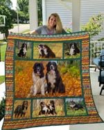 Theartsyhomes Bernese Mountain Dog 11 3D Personalized Customized Quilt Blanket ESR2