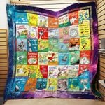 Theartsyhomes Dr. Seuss Books Everywhere 3D Personalized Customized Quilt Blanket ESR27
