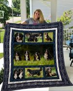Theartsyhomes Bernese Mountain Dog 7 3D Personalized Customized Quilt Blanket ESR8