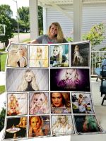 Theartsyhomes Carrie Underwood 3D Personalized Customized Quilt Blanket ESR6