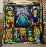 Theartsyhomes Disney Princess 3D Personalized Customized Quilt Blanket ESR45