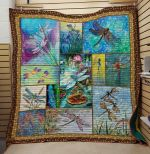 Theartsyhomes Dragonfly V18 3D Personalized Customized Quilt Blanket ESR49