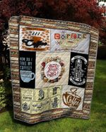 Theartsyhomes Coffee more than people 3D Personalized Customized Quilt Blanket ESR36