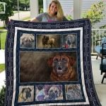 Theartsyhomes English Mastiff Qui49002 3D Personalized Customized Quilt Blanket ESR38