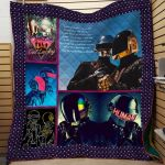Theartsyhomes Daft Punk Printing Tdq-Qvk0014 3D Personalized Customized Quilt Blanket ESR40