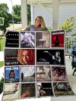 Theartsyhomes Eminem 3D Personalized Customized Quilt Blanket ESR13