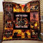 Theartsyhomes Firefighters 3D Personalized Customized Quilt Blanket ESR2