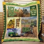 Theartsyhomes Better Tractor 3D Personalized Customized Quilt Blanket ESR47