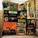 Theartsyhomes BTTF 3D Personalized Customized Quilt Blanket ESR49