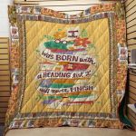 Theartsyhomes Book N2707 82o05 3D Personalized Customized Quilt Blanket ESR45
