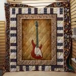 Theartsyhomes Electric Guitar 1511-05 3D Personalized Customized Quilt Blanket ESR35
