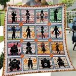 Theartsyhomes Dragon Ball Art 3D Personalized Customized Quilt Blanket ESR37