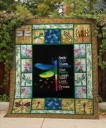 Theartsyhomes Dragonfly Love 3D Personalized Customized Quilt Blanket ESR17