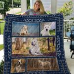 Theartsyhomes Dogo Argentino Qui67003 3D Personalized Customized Quilt Blanket ESR8