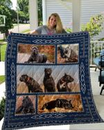 Theartsyhomes Cane Corso 1 3D Personalized Customized Quilt Blanket ESR23