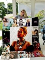 Theartsyhomes Beyonc Style Two 3D Personalized Customized Quilt Blanket ESR50
