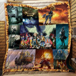 Theartsyhomes Final Fantasy Ix R196 3D Personalized Customized Quilt Blanket ESR17