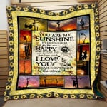 Theartsyhomes Dragon Sunflower Pm-Qhn00107 3D Personalized Customized Quilt Blanket ESR38