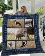 Theartsyhomes Boston Terrier 7 3D Personalized Customized Quilt Blanket ESR17