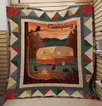 Theartsyhomes Camping Is For Nauture Lover 3D Personalized Customized Quilt Blanket ESR16