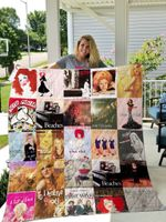 Theartsyhomes Bette Midler 3D Personalized Customized Quilt Blanket ESR45