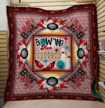 Theartsyhomes BOWLING Fun 3D Personalized Customized Quilt Blanket ESR39