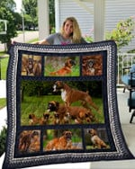 Theartsyhomes Boxer 7 3D Personalized Customized Quilt Blanket ESR3