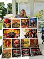 Theartsyhomes Five Finger Death Punch 3D Personalized Customized Quilt Blanket ESR14